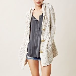 Free People • Oversized Toggle Sweater